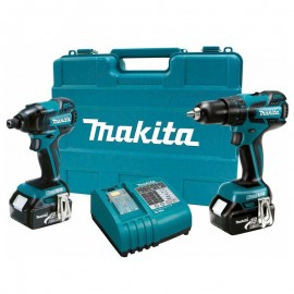 Ensemble 2 machines 10,8V LI-ION 3 AH MAKITA