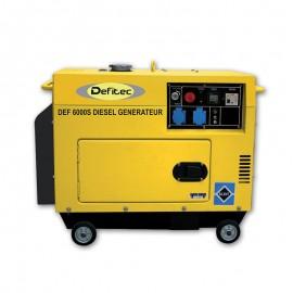 Groupe electrogène insonorisé DEFITEC 5000W