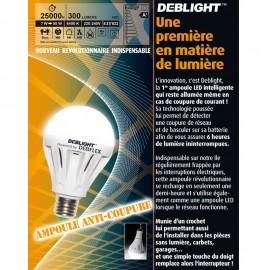 Ampoule anti-coupure E27