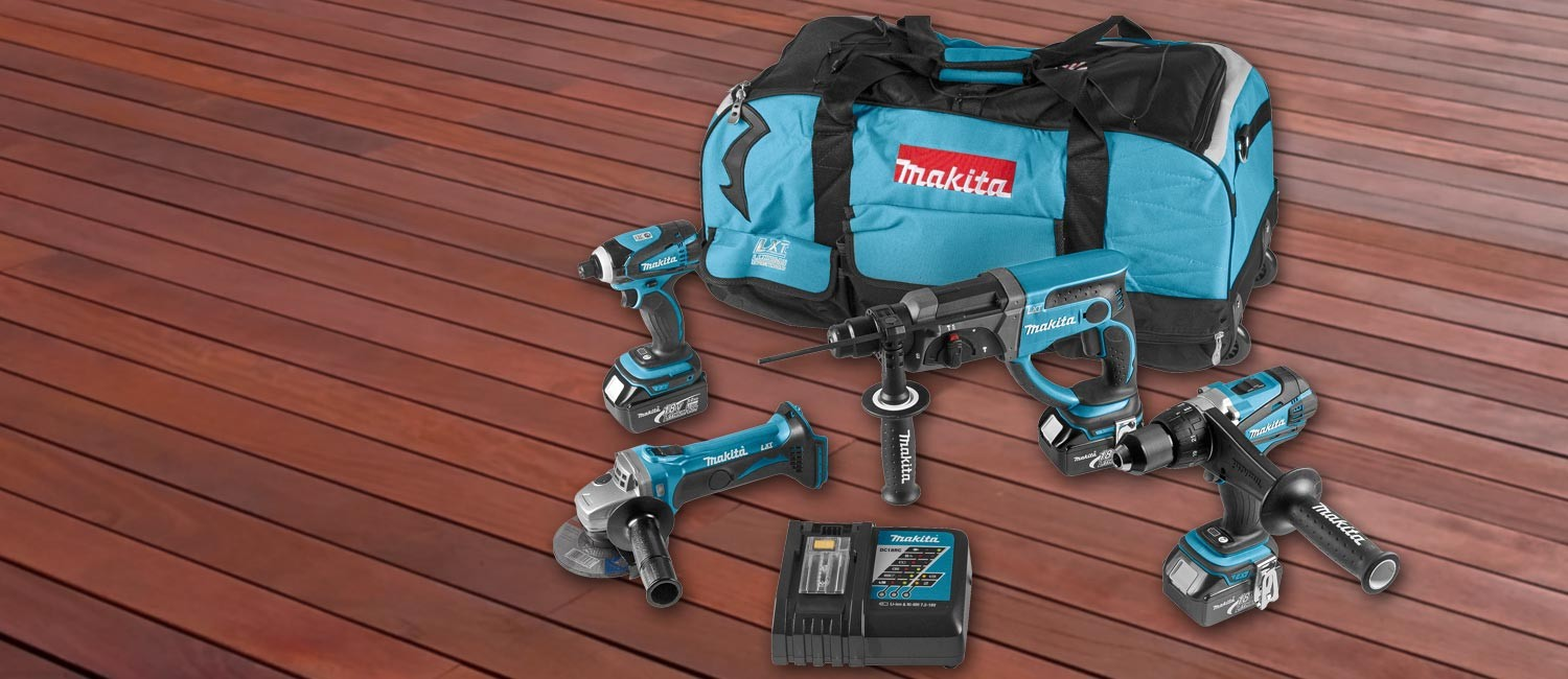 Ensemble 4 machines MAKITA
